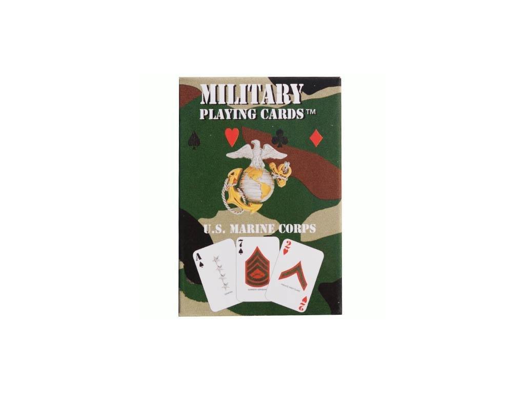 Hrací karty US MARINE CORPS