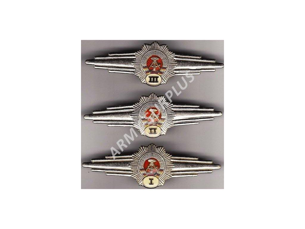 Odznak kvalifikace NVA VOPO III originál