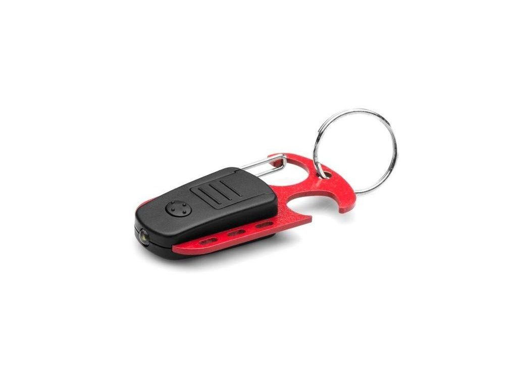 Svítilna MacTronic L-LED203 otvírák karabina červená