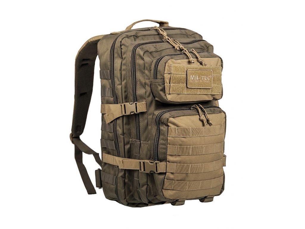 Batoh ASSAULT Pack RANGER US 36l molle LG velký oliv/coyote Miltec