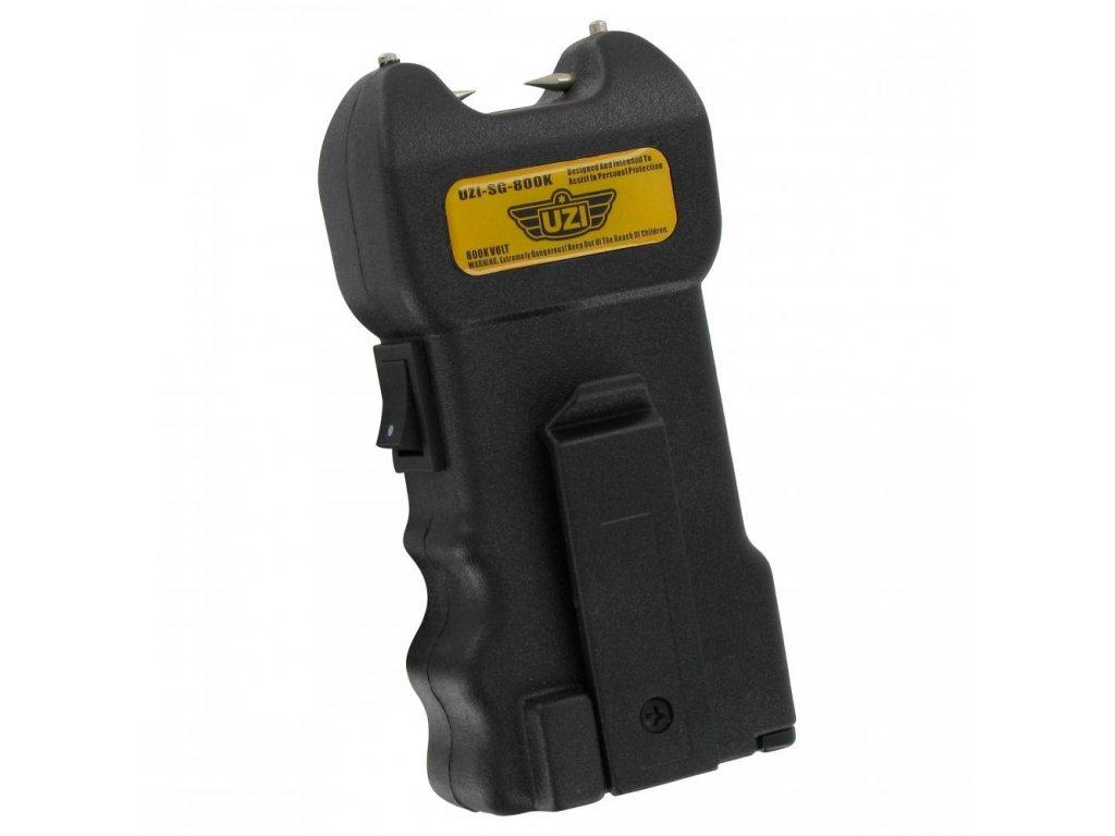Paralyzér UZI Stun Gun Alarm černý UZI-SG-800