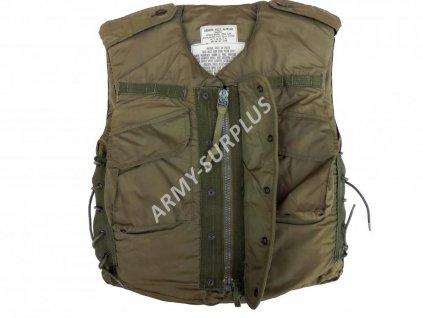 Neprůstřelná střepinová balistická vesta US M1952 Korea Flak Vest