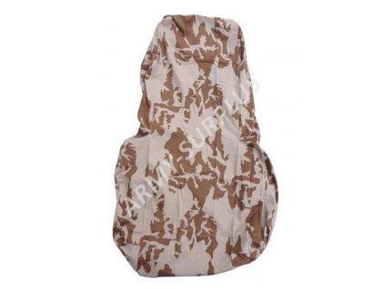 Potah (povlak,obal,převlek) na batoh (tlumok) 120L vz.95 s béžovým potiskem pouštní AČR