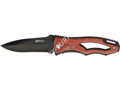 Nůž zavírací MTech Pakkawood Black MT-416 (MTE3603)