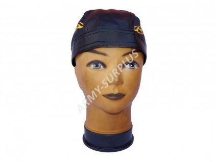 Šátek pirát kožený plameny vzor 4