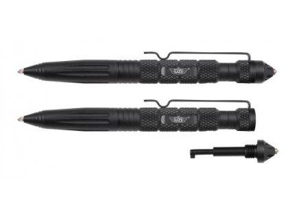 Taktické pero UZI Tactical Glassbreaker Pen 6 černé s klíčem UZI-TACPEN6-BK