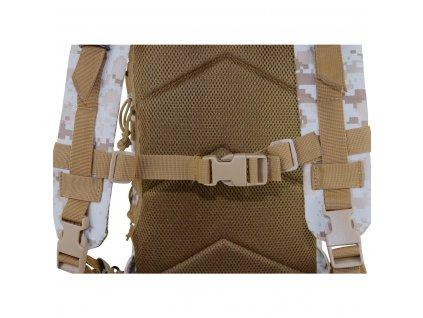 Batoh US ASSAULT Backpack oliv 25L molle CMG