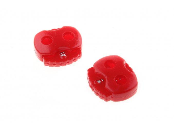 brzdičky červené, 2 ks