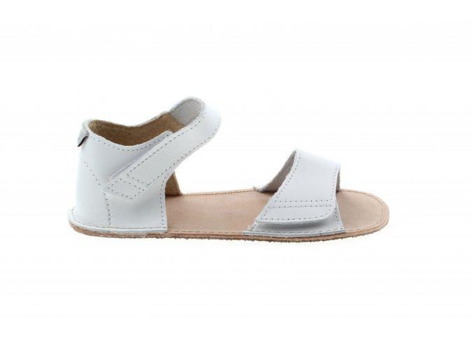 sandály Orto Plus bílé (BF-D203-G/10), šíře G