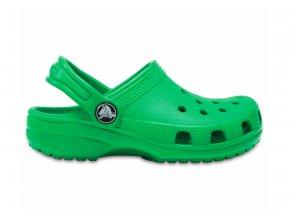 pantofle Corcs Clog zelené