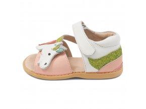 unicorn motiv na letních botách
