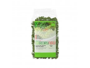 HealthyCo EKO Fusilli ze zeleného hrášku 250 g