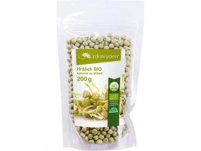 ZdravýDen® BIO Hrášek - semena na klíčení 200 g