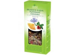 Grešík Brusinka & Pomeranč & Čekanka bylinný čaj sypaný 50 g
