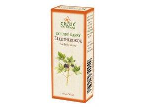 Grešík Sibiřský ženšen (Eleutherokok) bylinné kapky 50 ml
