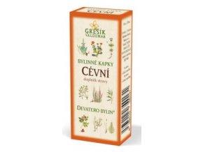 Grešík Cévní bylinné kapky Devatero bylin 50 ml