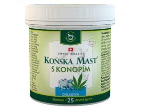 Herbamedicus Koňská mast s konopím chladivá 250 ml