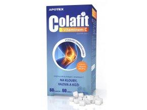 Apotex Colafit (čistý kolagen) s vitamínem C 60 kostiček + 60 tbl.