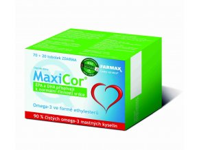 Farmax MaxiCor 70 tob. + 20 tob. ZDARMA