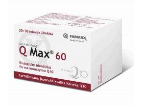 Farmax Q Max 60 30 tob. + 30 tob. ZDARMA