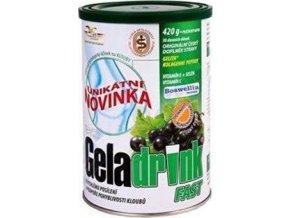 Orling Geladrink Fast nápoj černý rybíz 420 g