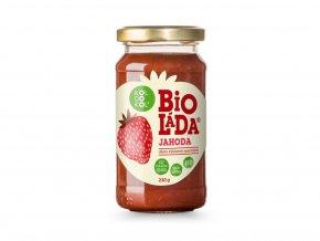 Bioláda Jahoda - džem výběrový speciální 230g