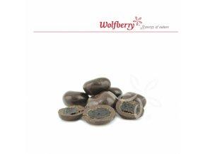 Wolfberry Bio Višně v hořké čokoládě 100 g