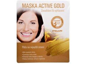 Ipsuum Prestige Maska Active Gold - hydrogelová látková