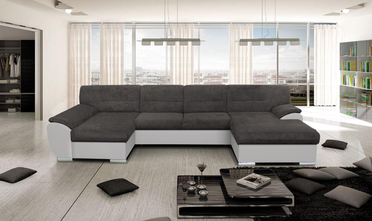 Sedačky, ktoré zväčšujú obývačku ako mávnutím čarovného prútika