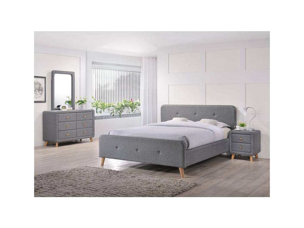 92a0e2b75cc4 Čalúnená manželská posteľ MALMO