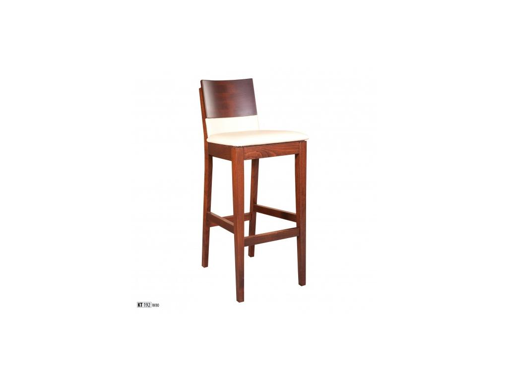9a15fcb21bac Elegantná barová stolička - masív KT192