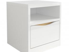 moderny biely keskly nocny stolik KNT1S PORI SELY detail 01
