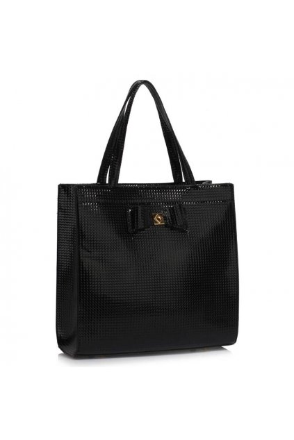 Trendová kabelka do ruky Lisa A čierna LS00383a